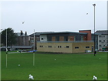 NS2577 : Greenock Wanderers Rugby Club by Thomas Nugent