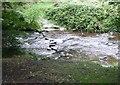 SE0327 : Stepping stones, Wade Bridge, Luddenden Dean by Humphrey Bolton