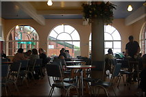 NZ3573 : Interior, Rendezvous Café, Whitley Bay by hayley green