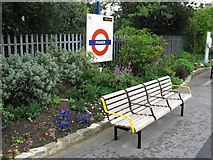 TQ1289 : Pinner station 2 by Phillip Perry
