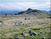 NY2807 : Looking towards the back of Harrison Stickle by Peter S