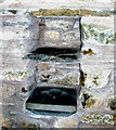 SM8526 : Wall stoup Llandeloy Church by Anonymous