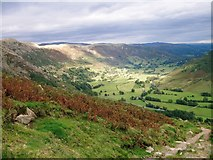 NY3006 : Great Langdale valley by Peter S