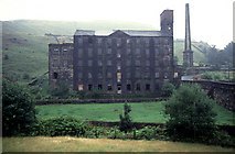 SD9524 : Woodhouse Mill, Langfield by Chris Allen