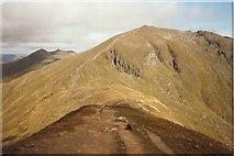 NN6240 : Ben Lawers Path  from Beinn Ghlas by Sarah Charlesworth