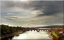 NT9953 : The River Tweed by Steve  Fareham