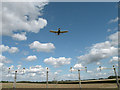 TL4959 : G-BZET approaching Cambridge Airport by Keith Edkins