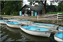 TQ0561 : Byfleet Boat Club by Graham Horn