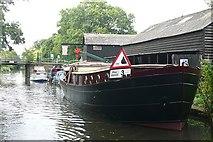 TQ0561 : Parvis Wharf by Graham Horn