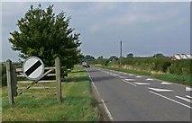 SK7431 : Langar Lane near Harby by Mat Fascione