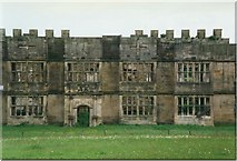 NZ1758 : The Ruins of Gibside Hall by Sarah Charlesworth