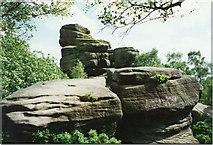 SE2064 : Brimham Rocks by Sarah Charlesworth
