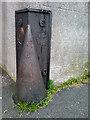 J5081 : Corner protector, Alfred Street, Bangor by Rossographer