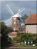 TG0444 : Cley windmill by Andrew Hill