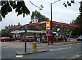 TL8464 : Murco Garage, Newmarket Road by John Goldsmith