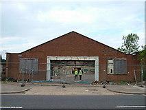 TL8364 : Pordage's Warehouse, Western Way by John Goldsmith
