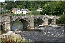 SJ1143 : Carrog Bridge, Denbighshire by Jeff Buck