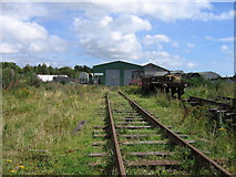 NO3700 : Railway preservation site, Kirkland Yard, Leven by A-M-Jervis
