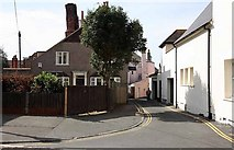 TR3752 : Road next to The Royal Hotel,Beach Street, Deal by John Salmon