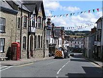 SO2956 : Church street, Kington by andy dolman