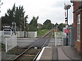 SU8885 : Level crossing at Cookham station. by Rod Allday
