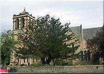 SE4245 : St Mary's Church - High Street, Boston Spa by Betty Longbottom