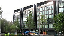 NT2572 : Quartermile - the former Royal infirmary site by Richard Webb