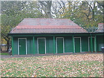 NT2572 : The Meadows Pavilion at Middle Meadow Walk by Renata Edge