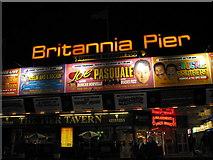 TG5307 : Britannia Pier by Renata Edge