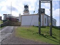 HU4007 : Sumburgh Head lighthouse by Nick Mutton