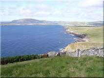 HU4007 : West Voe of Sumburgh from lighthouse by Nick Mutton