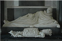 SO8845 : Coventry monument, Croome D'Abitot Church by Philip Halling