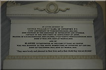 SO8845 : Memorial to the 9th Earl of Coventry by Philip Halling