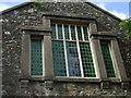 SM9828 : Green window, Capel Beulah by ceridwen