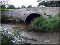 SM9828 : Bridge over  the Afon Anghof by ceridwen