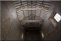 TM0308 : St Peter on the Wall, Bradwell juxta Mare, Essex - Roof by John Salmon