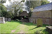 TR3451 : St Martin, Great Mongeham, Kent - Churchyard by John Salmon