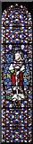 TR3451 : St Martin, Great Mongeham, Kent - Window by John Salmon