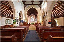 TR3451 : St Martin, Great Mongeham, Kent - East end by John Salmon