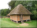 SU8712 : Granary at Weald & Downland Museum, Singleton, West Sussex by Oast House Archive