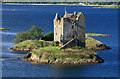 NM9247 : Castle Stalker by Mike Searle