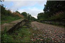 NM9247 : The former Appin Railway Station by Mike Searle