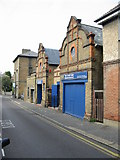 TR3752 : The Court Yard Oyster Bar, Sondes Road by Nick Smith