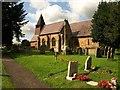 SO7555 : St Mary Magdalene church, Broadwas by Derek Harper