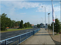 SO9198 : Ring Road View by Gordon Griffiths