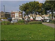 TQ2976 : Larkhall Park by Shaun Ferguson