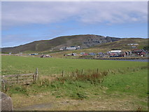 HU4039 : Looking towards the East Voe of Scalloway by Nick Mutton
