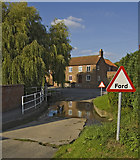 SE9947 : Ford at Lockington by Paul Harrop