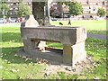 TQ4377 : Woolwich Common: 'Metropolitan' horse trough by Stephen Craven