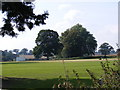 TM3968 : Yoxford Cricket field by Adrian Cable